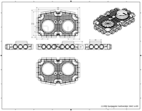 Uniflex Plus Haubtverteilbox 18x Ø 63 mm mit Tülle Ø 180 mm-2