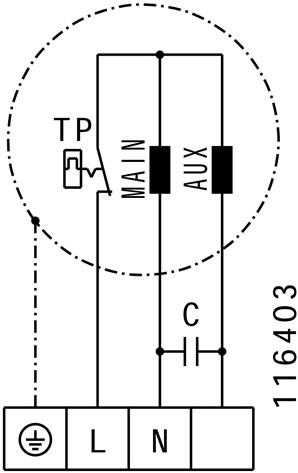 Ruck Etaline E Rohrventilator 1740m³/h - Ø 250 mm - EL 250 E2 01-3