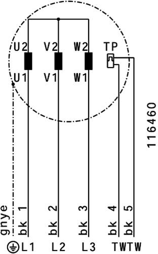 Ruck Etaline D Rohrventilator 7350m³/h - Ø 450 mm - EL 450 D4 01-3