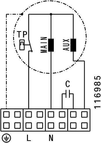 Ruck isolierter Abluftbox 730m³/h - Ø 200 mm - ISOR 200 E2 11-3