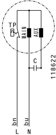 Ruck Etaline E Rohrventilator 920m³/h - Ø 200 mm - EL 200 E2 01-3