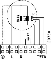 Ruck Etaline E Rohrventilator 5210m³/h - Ø 450 mm - EL 450 E4 01-3