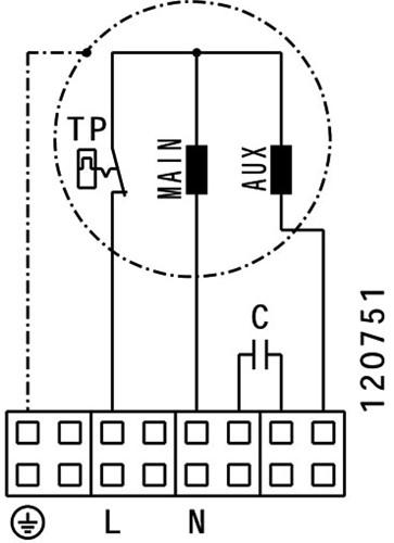 Ruck Etaline E Rohrventilator 3440m³/h - Ø 400 mm - EL 400 E4 01-3