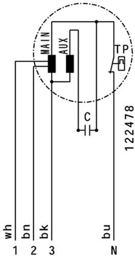Ruck Etaline M Rohrventilator 910m³/h - Ø 200 mm - EL 200 E2M 01-3