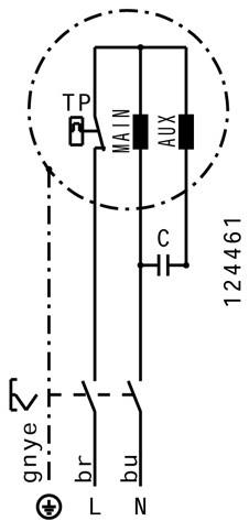 Ruck Dachventilator Kunststoff mit Geräteschalter - 900m³/h - DHA 220 E2P 01-3