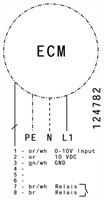 Ruck Etaline Rohrventilator mit EC Motor 990m³/h - Ø 160 mm - EL 160L EC 01-3