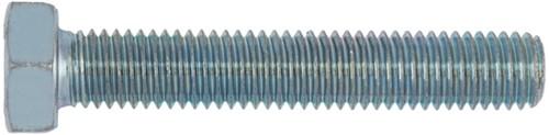 Sechskantschraube M8x25mm galv. verzinkt DIN 933 (200 Stück)