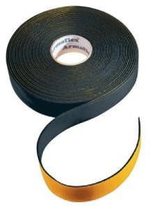 Neutrales Isolierband 50mm -  Länge 15 Meter -Schwartz