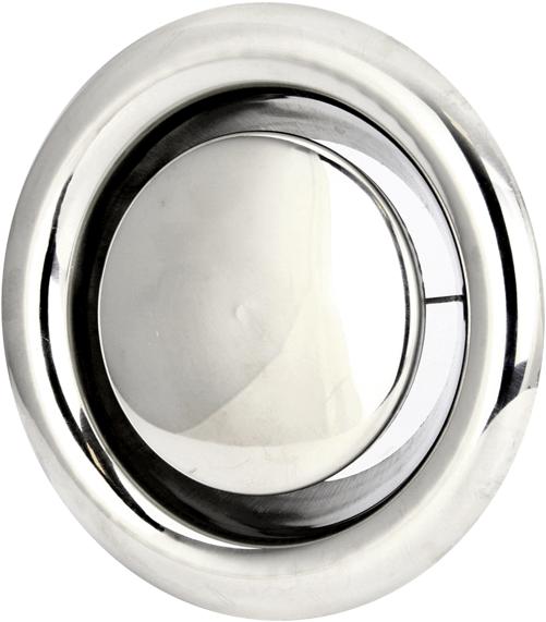 Abluft Edelstahl Ventil 160 Mm Mit Montagering Dvs160y 1