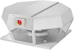 Ruck Dachventilator horizontal mit Geräteschalter und EC-Motor (DHA ECP-Serie)