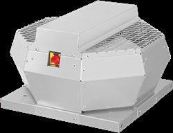 Ruck Dachventilator vertikal mit Geräteschalter, Konstantdruckregelung und EC-Motor (DVA ECCP-Serie)