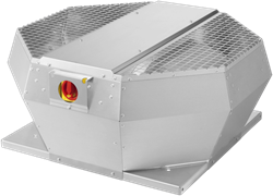 Ruck Dachventilator vertikal mit Geräteschalter und EC-Motor (DVA EC P-Serie)