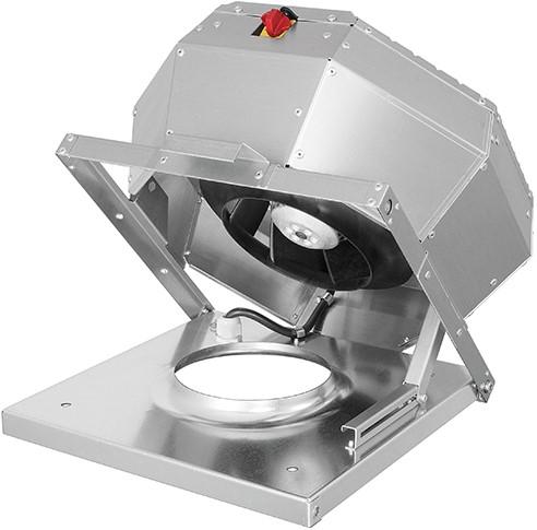 Ruck Dachventilator Metall - aufklappbar mit EC Motor 14115m³/h - DVA 630 ECP 41