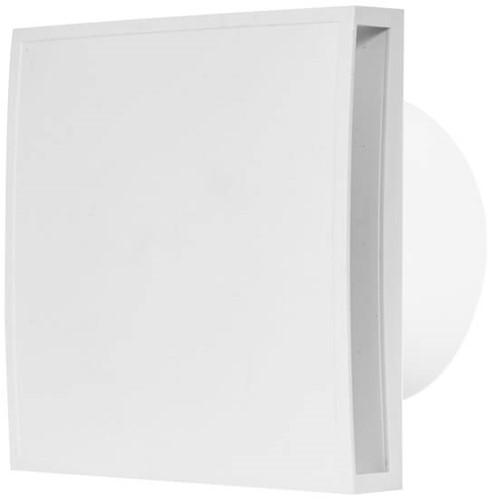Badlüfter 150mm weiß mit Timer - Design EET150T