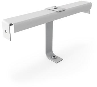Einbautraverse für Drahldurchlass mit Zentrale Schraubbefestigung - 125 mm