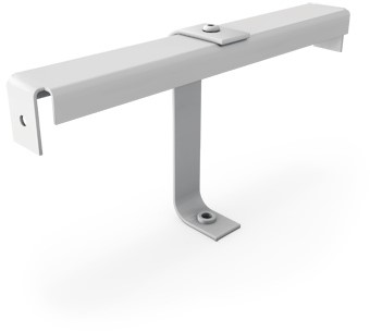 Einbautraverse für Drahldurchlass mit Zentrale Schraubbefestigung - 400 mm