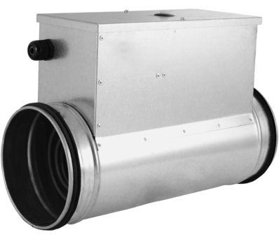 Elektrisches Rundkanal heizregister - Ø125 - 1,2 kW