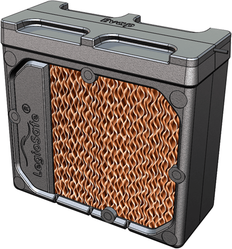 HomEvap Ersatz-Luftbefeuchterpatrone - Matrix- und Legionellenfilter