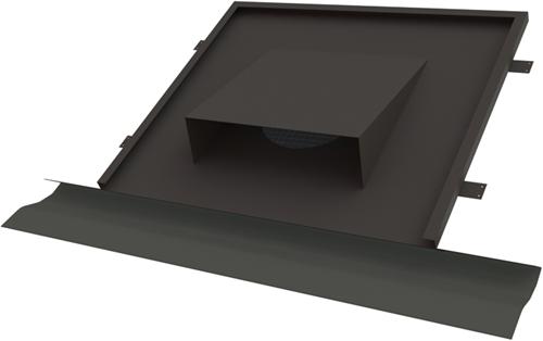 Thermoduct horizontale Dachdurchführung Ø 250 mm für Schrägdächer