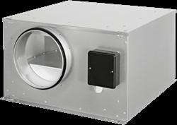Ruck abluftbox isoliert (ISOR-Serie)