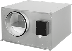 Ruck abluftbox isoliert mit energieeffizientem EC-Motor (ISOR EC-Serie)