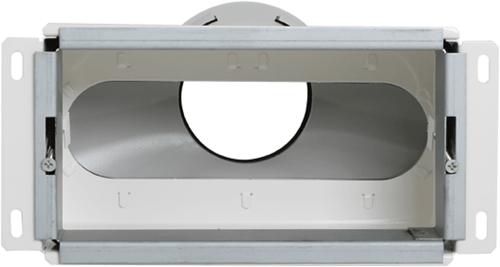 Uniflexplus Wandkollektor Hinterer Anschluss 1x Ø 90 mm