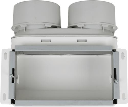 Uniflexplus Wandkollektor Oberanschluss 2x Ø 90 mm