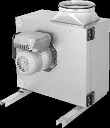 Ruck Abluftbox mit EC Motor außerhalb des luftstroms 2850m³/h Ø249 mm - MPS 250 EC 30