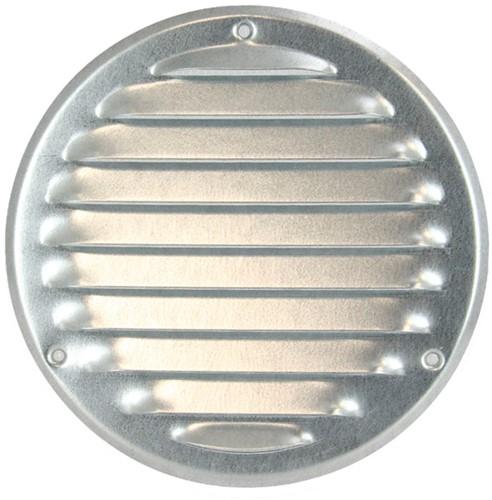 Lüftungsgitter Metall rund Zink Ø125mm MR125ZN