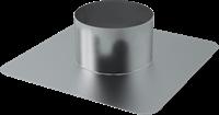 Dachplatte Ø 160 mm für WRG Dachdurchführung