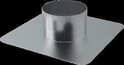 Dachplatte Ø 125 mm für WRG Dachdurchführung