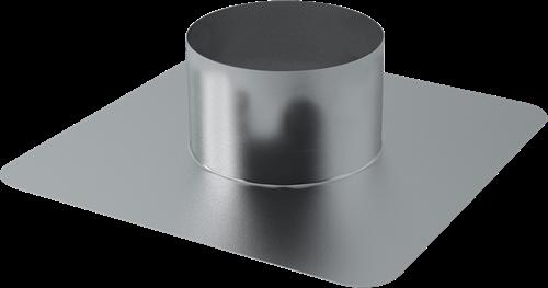 Dachplatte Ø 400 mm für WRG Dachdurchführung