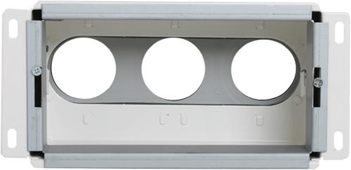 Uniflexplus Wandkollektor Hinterer Anschluss 3x Ø 63 mm