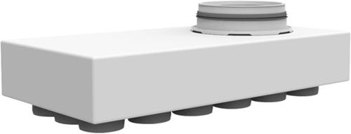 Uniflexplus Hauptverteiler mit Unteranschluss 18x Ø 63 mit Tülle  Ø 125