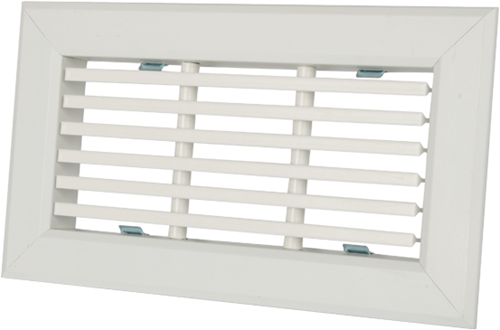 Uniflexplus Gitter mit festen Lamellen 200x100 für Wandkollektor