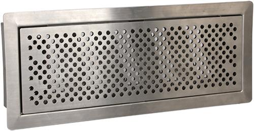 Uniflex Plus bewegliches Bodenlochgitter Edelstahl poliert