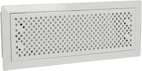 Uniflex Plus bewegliches Bodenlochgitter Edelstahl Weiß