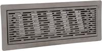 Uniflex Plus bewegliches Bodenspaltgitter Edelstahl gebürstet