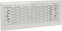 Uniflex Plus bewegliches Bodenspaltgitter Edelstahl Weiß