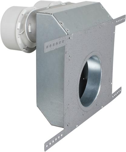 Uniflexplus Wand-Ventilkollektor ohne Ventil 2x Ø 90 mm