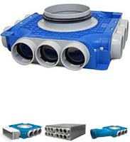 Uniflexplus 63 mm Verteilerboxen