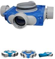 Uniflexplus 90 mm Verteilerboxen