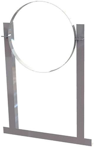 Dachschelle Aluminium für Wickelfalzrohr Ø160mm