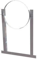 Dachschelle Aluminium für Wickelfalzrohr Ø250mm