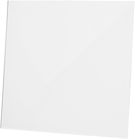 Front dRim - Glasfront - Hochglanz-Weiß (01-170)