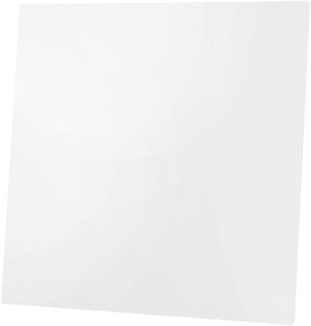 Front dRim - Glasfront - Mattweiß (01-171)