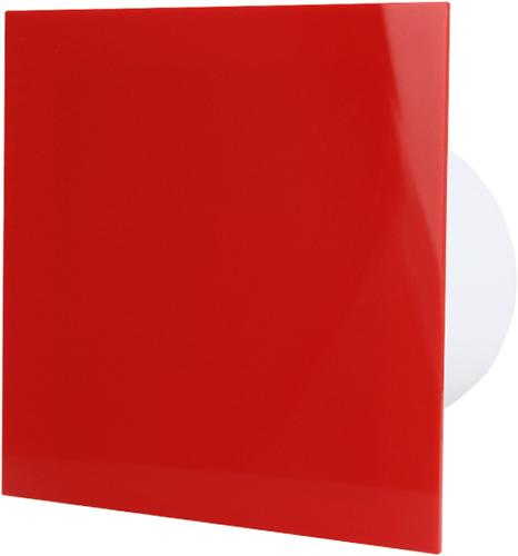 Badlüfter durchmesser 125mm - Kunststoff - Rot