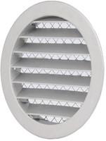 Wetterschutzgitter Aluminium rund