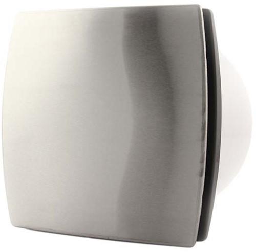 Badlüfter 100 mm Edelstahl mit Timer und Feuchtigkeitssensor - Design T100HTi