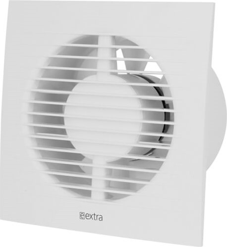 Badlüfter 125 mm Weiß mit Timer - Standard E125T